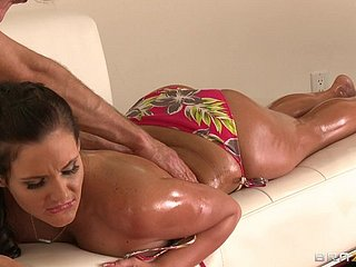 Hot copulation encircling the busty milf Phoenix Marie
